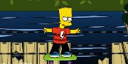 Bart Simpson Skateboarding game