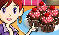 Chocolate Cupcakes: Saras Cooking Class game