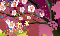 Create Your Blossom Tree game