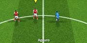 England Soccer League game
