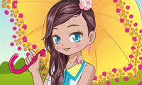 Kawaii Beauty Dress Up game