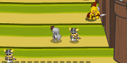 Knight Attack Castle Defense game