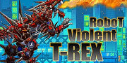 Robot Violent T-Rex game