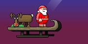 Santa Kicker game
