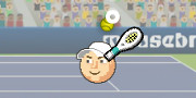 Sport Heads Tennis Open game