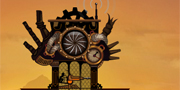 Steampunk Tower game