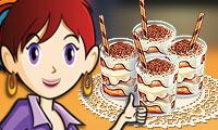 Tiramisu Cups: Saras Cooking Class game