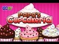 Papas Cupcakeria walkthrough video jeu