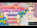 Princess Wedding Makeover walkthrough video jeu